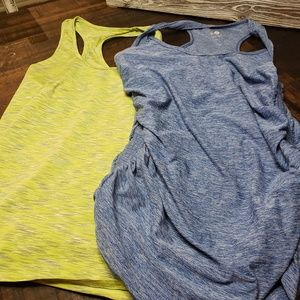 Lot of workout tops Rasor Back
